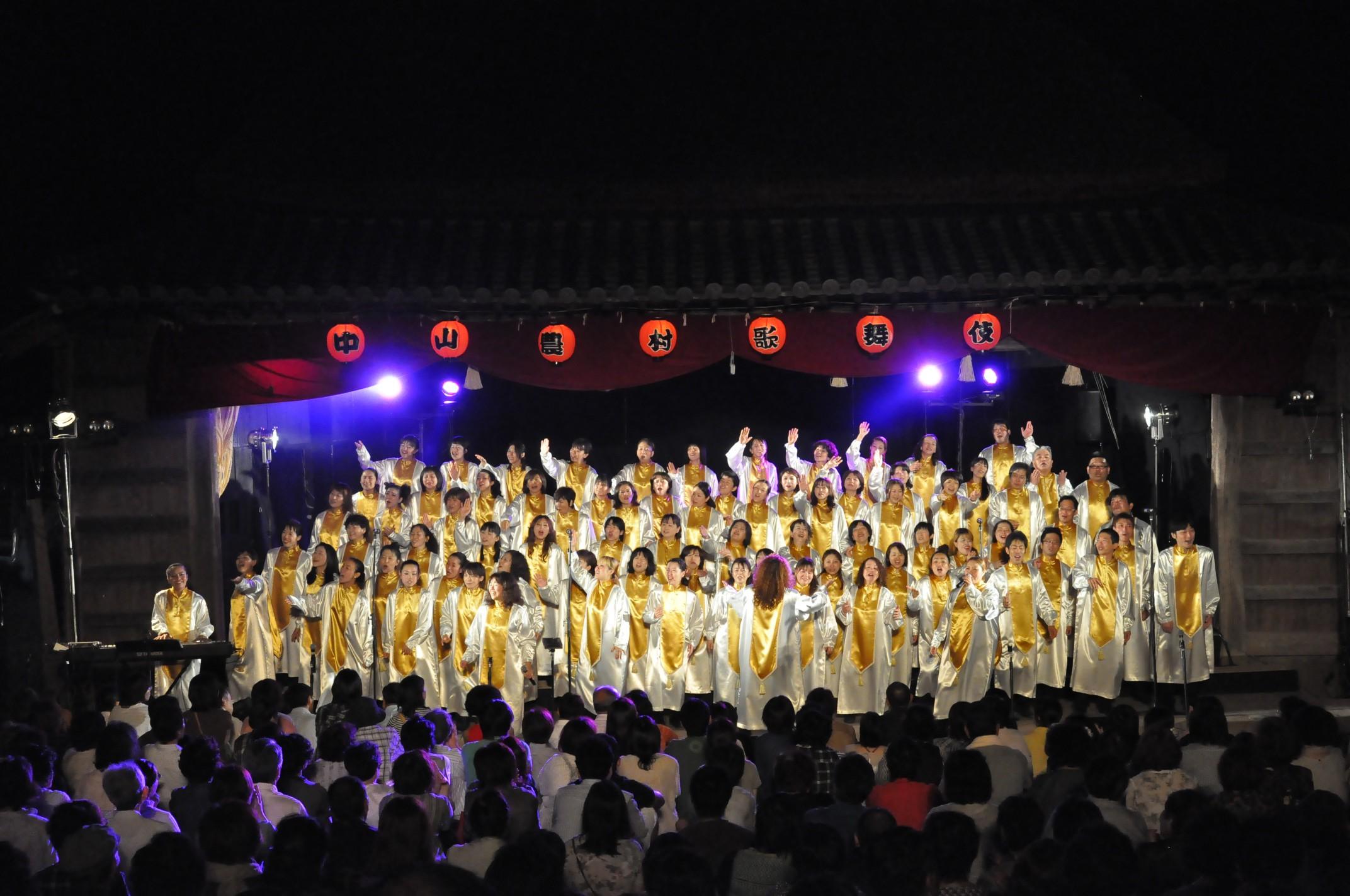 2012年小豆島中村農村歌舞伎